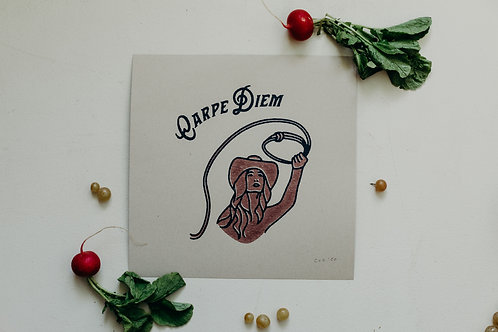 Carpe Diem 12x12 Print