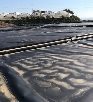 Instalaión de cubiertas flotantes