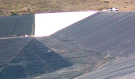 waterproofing reservoirs, waterproofing lakes, waterproofing golf sites, hdpe,polyethylene