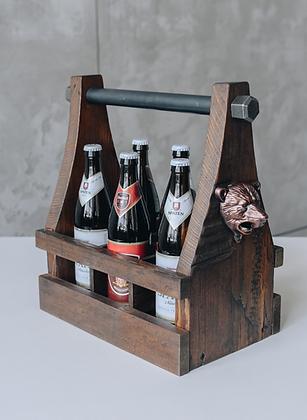 """Поднос для пива в стиле лофт """"Beer company"""""""