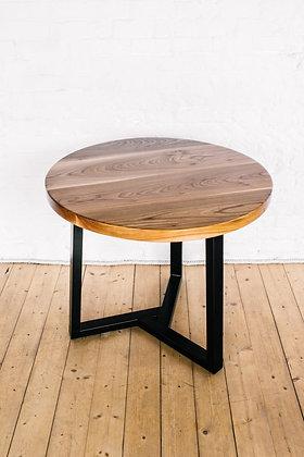 """Круглый обеденный стол в стиле лофт """"Simple Elm"""""""