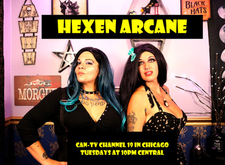 NEW HORROR HOSTS COME TO CHICAGO TV WITH HEXEN ARCANE