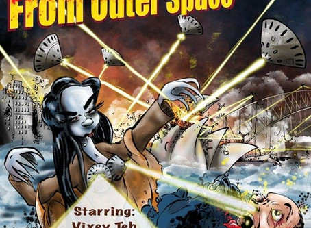 Toxic Alien Zombie Babes from Outer Space