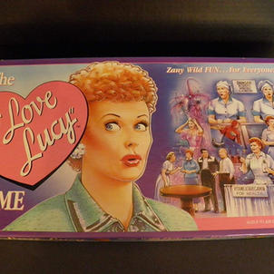 I Love Lucy vintage game