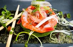 Thunfisch spargetti | Salat Avocado.jpg