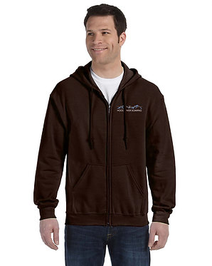 Men's hoodie with embroidered classic logo