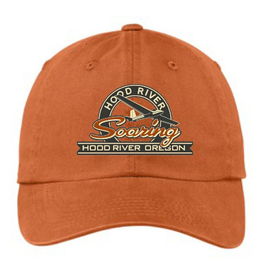 Cap with embroidered vintage logo
