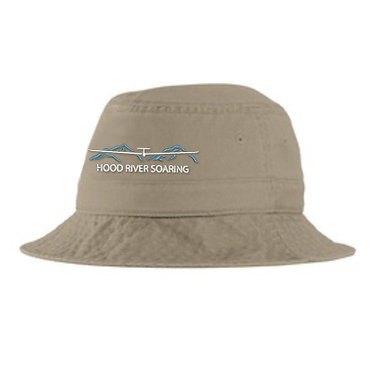 Bucket hat with embroidered classic logo