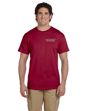 Men's short sleeve t-shirt with embroidered classic logo