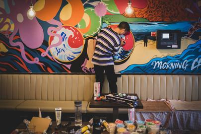 Brundles Bar and Restaurant Mural 3