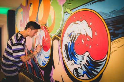 Brundles Bar and Restaurant Mural 2