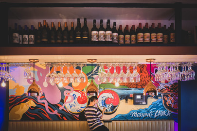 Brundles Bar and Restaurant Mural