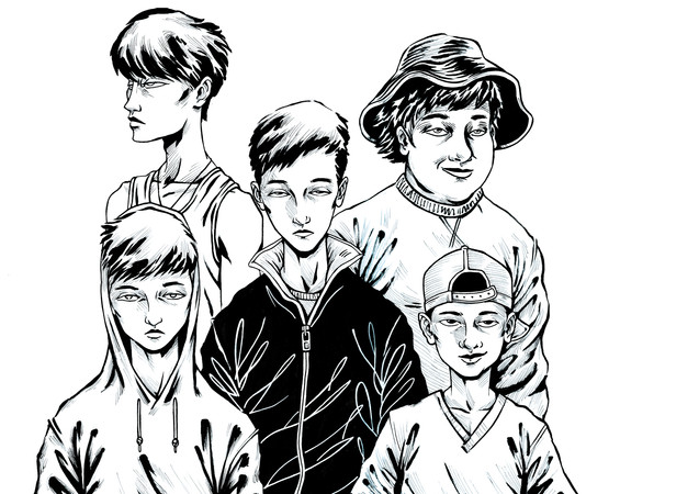 Character Designs - The Boys