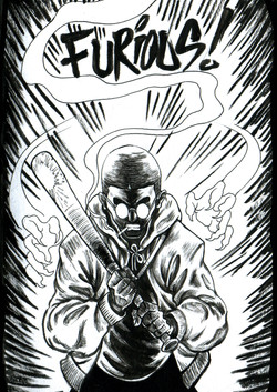 Inktober 2018 - furious
