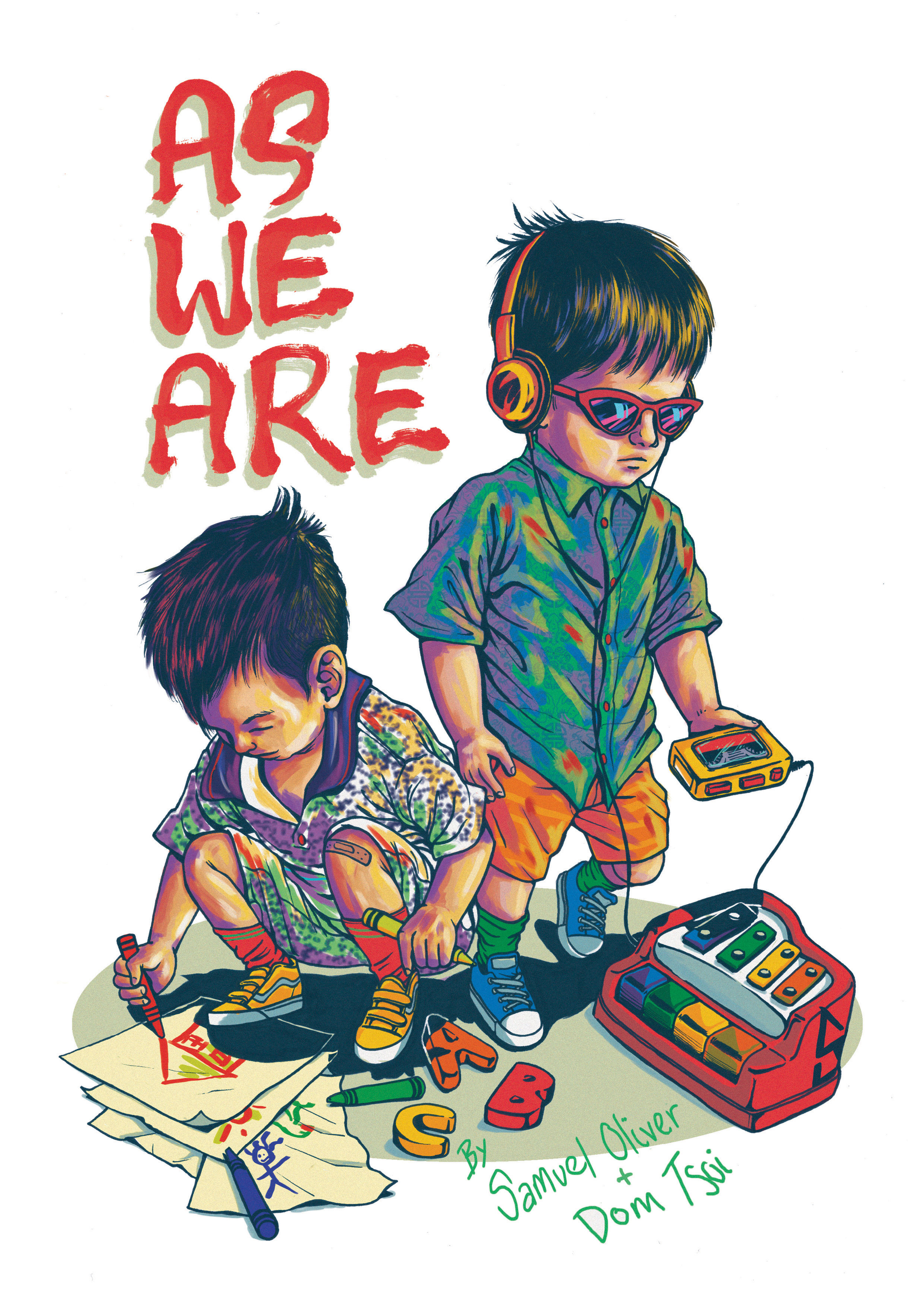 AS WE ARE - COVER