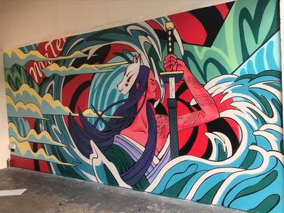 Mr Tee Mural