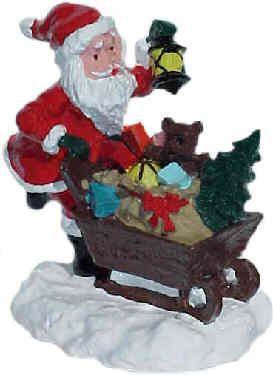 #4108 - Santa Pushing Sled
