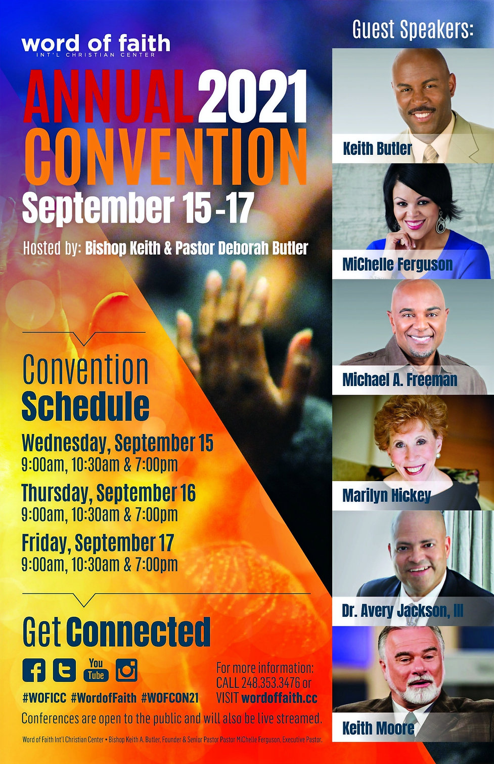 Word of Faith Annual Convention Eposter