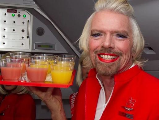 Richard Branson, I am not!