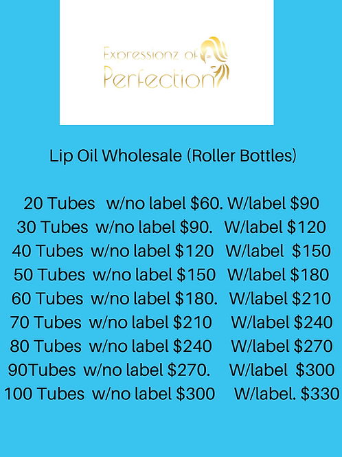 Boss Up- Lip Oils Wholesale (Roll-on Bottles)