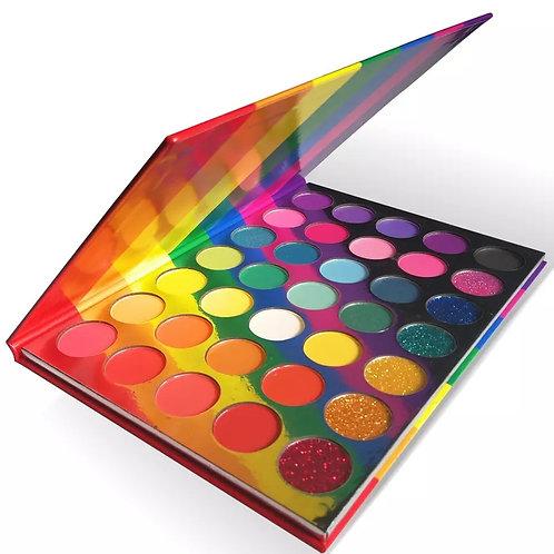 Rainbow Eyeshadow Pallete
