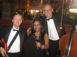 We were just starting our evening of Swinging Jazz!