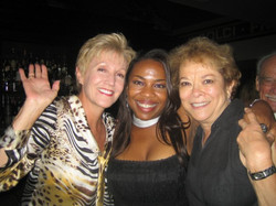 On Las Olas Boulevard with two great gals
