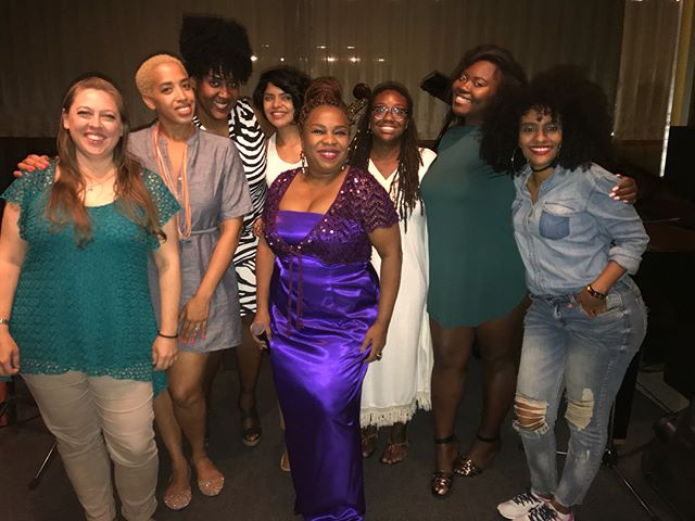 WOWWWWWW!!!! All these PHENOMENAL women came to see me tonight and it was MAGIC!!! #ajazzylifestyle
