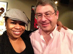 Here with Campbell Normand, the piano player who seemed to get energy from the music