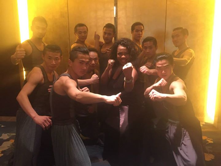 Coco.jpg.jpg.jpg with Kung Fu team right after their AMAZING performance! One of these guys will be
