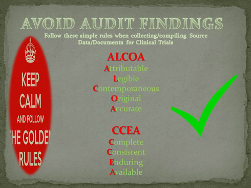 Avoid Audit Findings in Clinical Trials