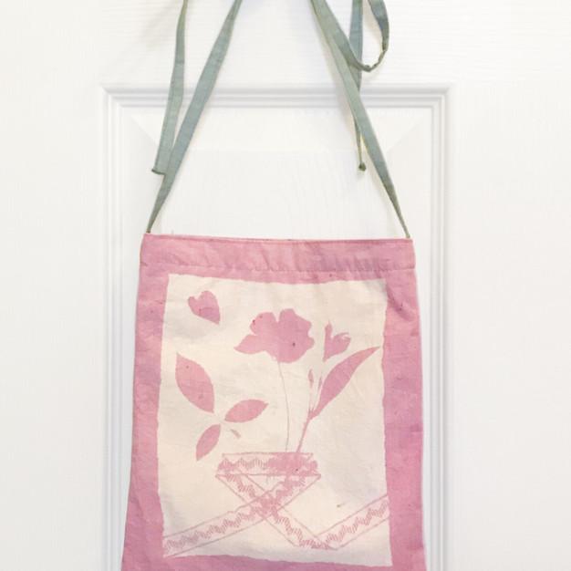 花の旅 草木染バッグ