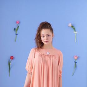 Livraコラボレーション草木染めルームドレス