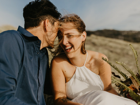 Beach Elopement | Muriwai Beach New Zealand