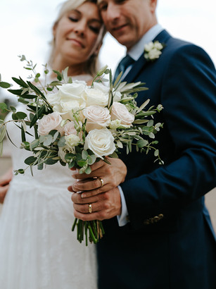 Love Story | Intimate Backyard Micro Wedding during COVID-19