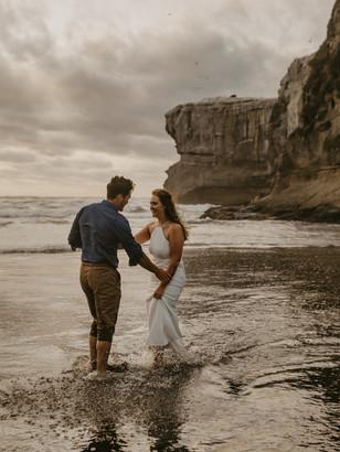 Love Story | New Zealand Beach Elopement