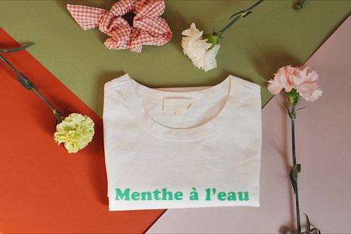 "Tee-shirt ""menthe à l'eau"""
