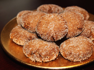 Paleo Chewy Chai Spice Cookies