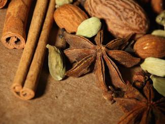 Warming Winter Spices (plus recipe)