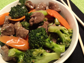 Paleo Ginger Beef with Broccoli