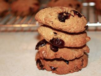 Cranberry Walnut Cookies (Paleo)