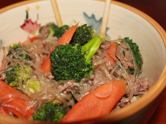 Paleo Beef & Vegetable Noodles