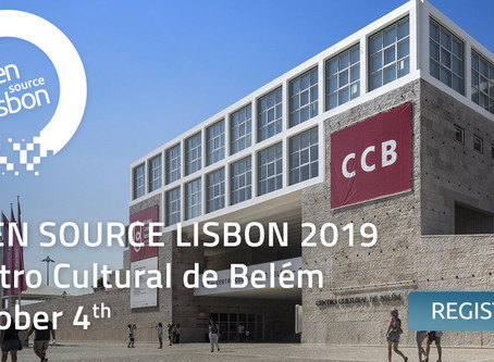 OPEN SOURCE LISBON 2019: 1st SPEAKERS & SPONSORS
