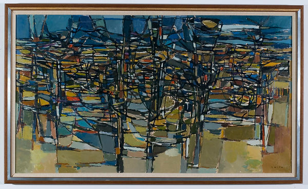 Gordon Smith - Tangled Undergrowth, 1957