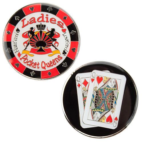 Ladies (Pocket Queens) Card Guard