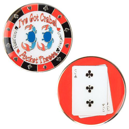 I've Got Crabs (Pocket Threes) Card Guard