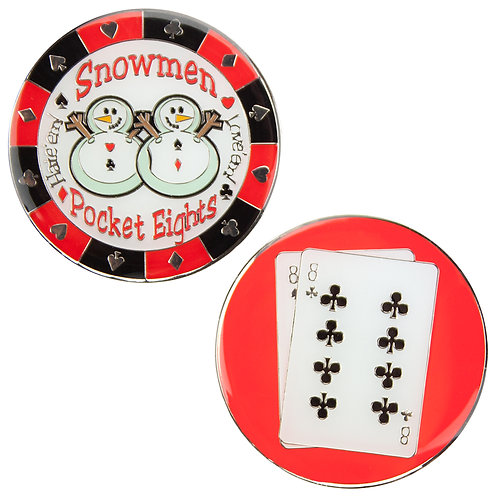 Snowmen (Pocket Eights) Card Guard