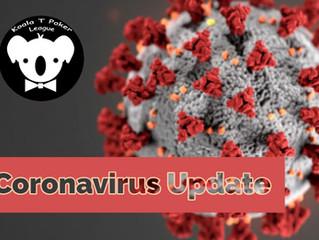 Koala T Update on Coronavirus