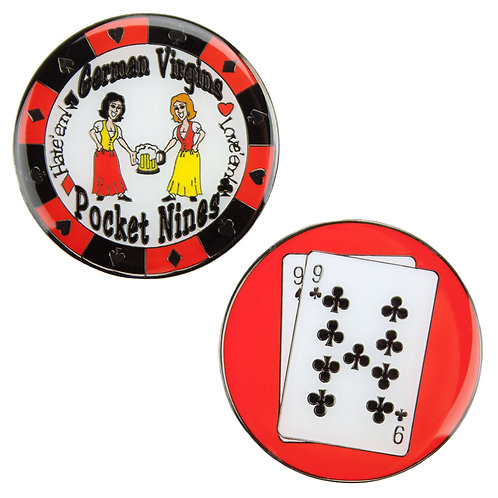 German Virgins (Pocket Nines) Card Guard