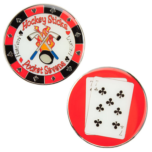 Hockey Sticks (Pocket Sevens) Card Guard